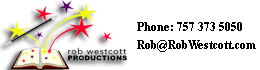 Rob Westcott Productions Contact Information